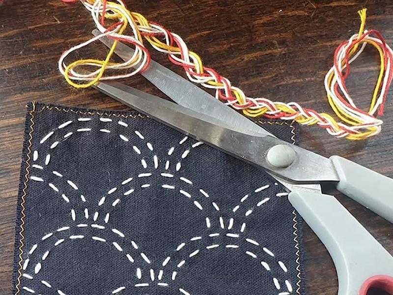 Sashiko Embroidery Zoom Workshop