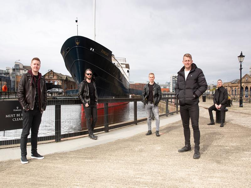 All aboard for special Skerryvore livestream from exclusive floating hotel Fingal