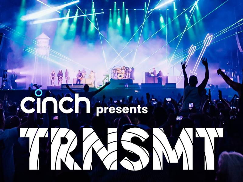 cinch presents TRNSMT Festival is back for the part of the summer!