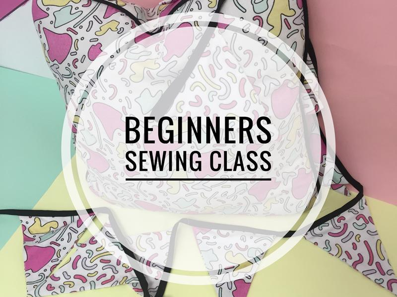 2 Day Beginners Sewing Class