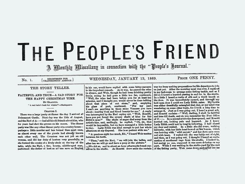 Exhibition: 150 Years of The People's Friend