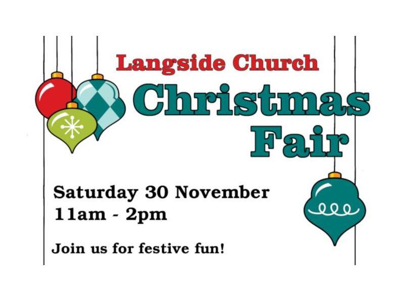 Langside Church Christmas Fair