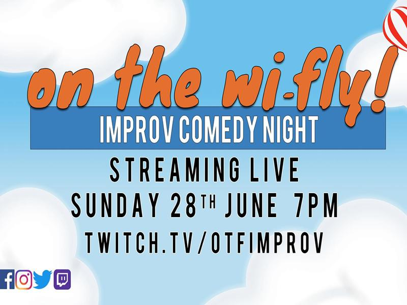 On The Wi-Fly! Improv Comedy Night