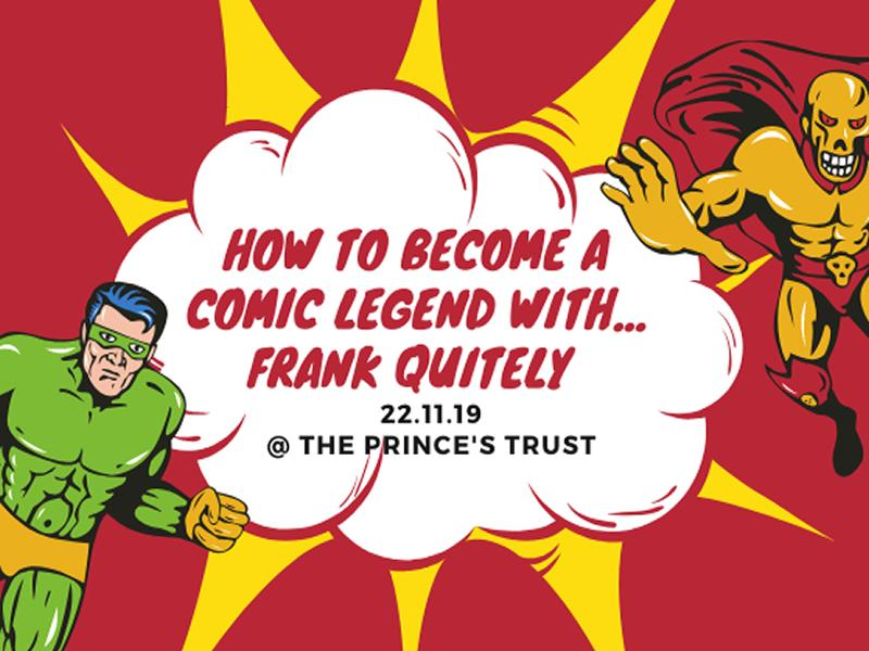 How To Become A Comic Book Legend with Frank Quitely