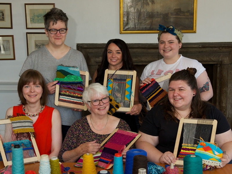 New weaving exhibition launches in time for Weave Festival and Sma Shot Day