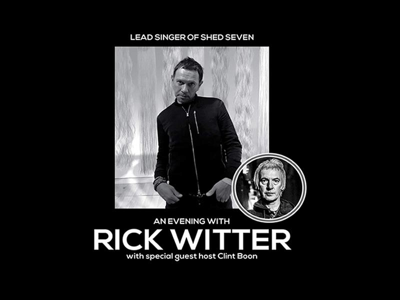 An Evening with Rick Witter hosted by Clint Boon
