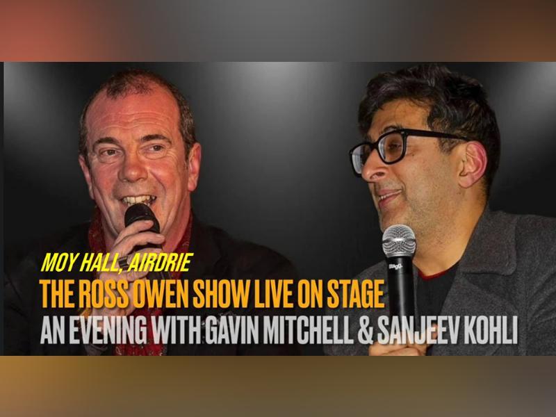 An Evening with Still Game stars Gavin MItchell & Sanjeev Kohli in Airdrie