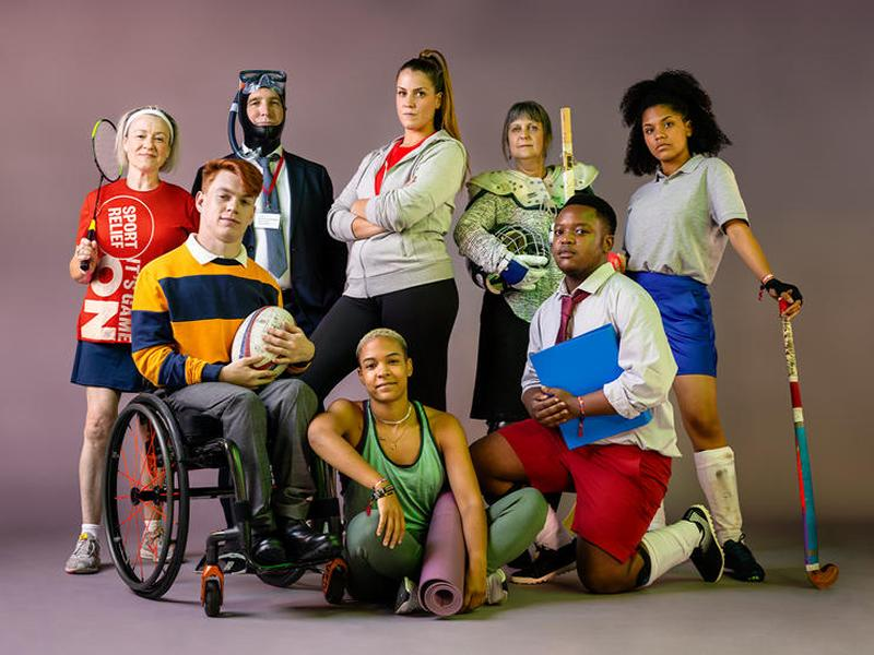It is time to get your kit on and make a difference... Sport Relief is back!