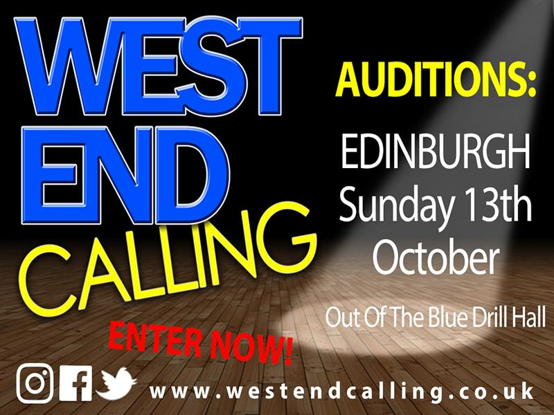 National Musical Theatre Singing Competition comes to Edinburgh