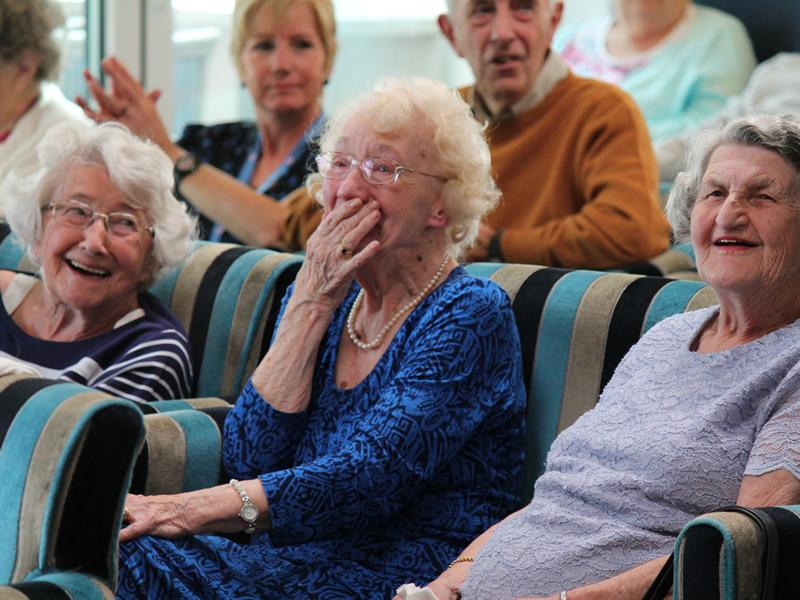 VE Day extravaganza for care homes across the UK