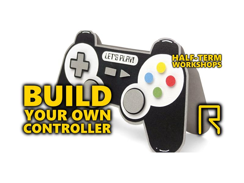 R-CADE Kids: Build Your Own Controller - CANCELLED
