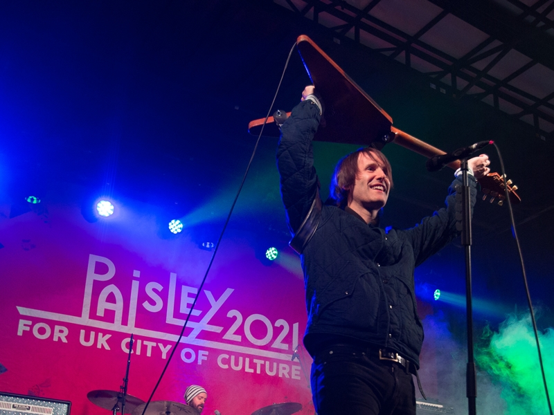 Almost 25,000 turn out for Paisley Christmas Lights Switch On