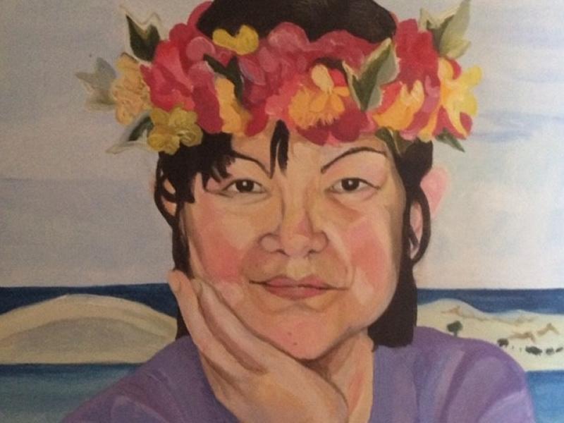 Portraits in Acrylic - Blaeberry River Art