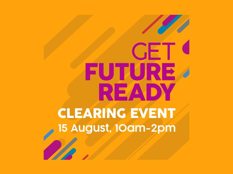 Clearing Event at Glasgow Clyde College