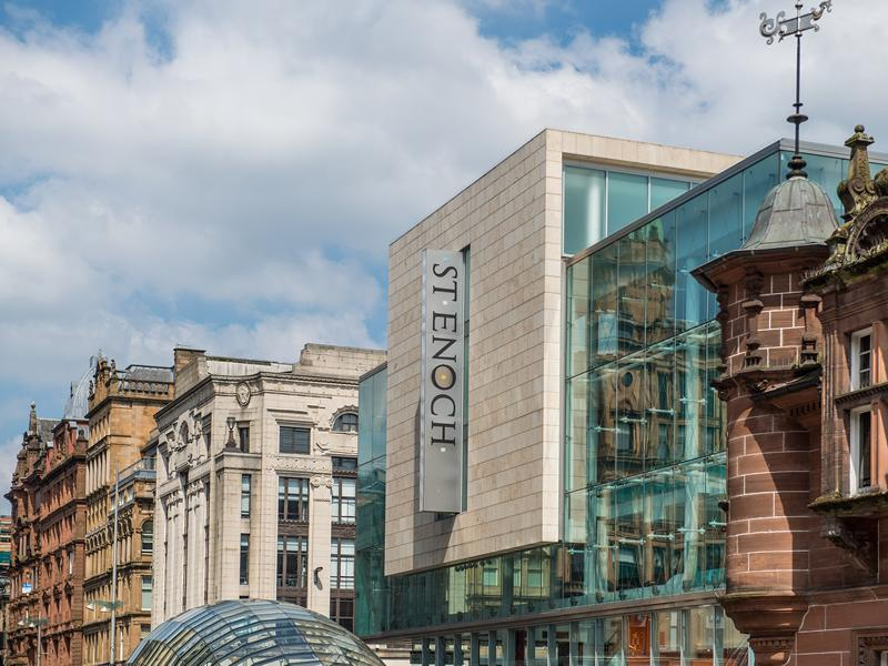 St. Enoch Centre fully reopens for first time since Christmas