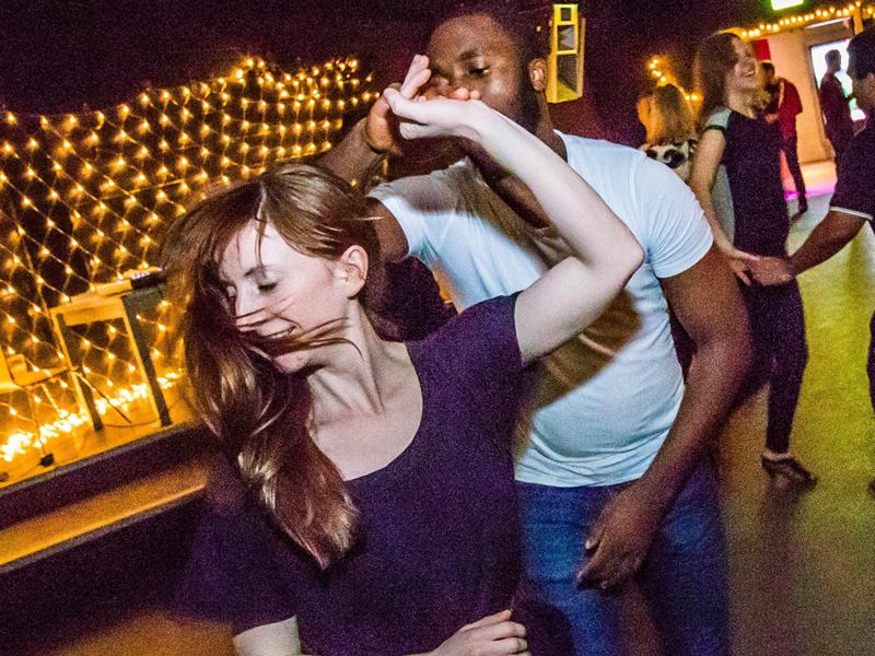 Glasgow Literary Lounge: Are We Dancing? Salsa with Roisin MacFarlane - CANCELLED