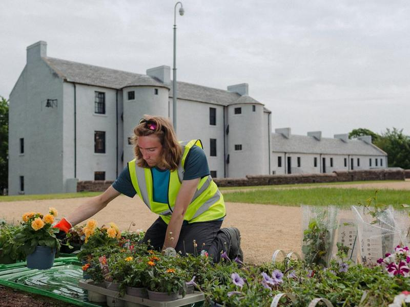 Museum landscaping work receives much needed funding boost