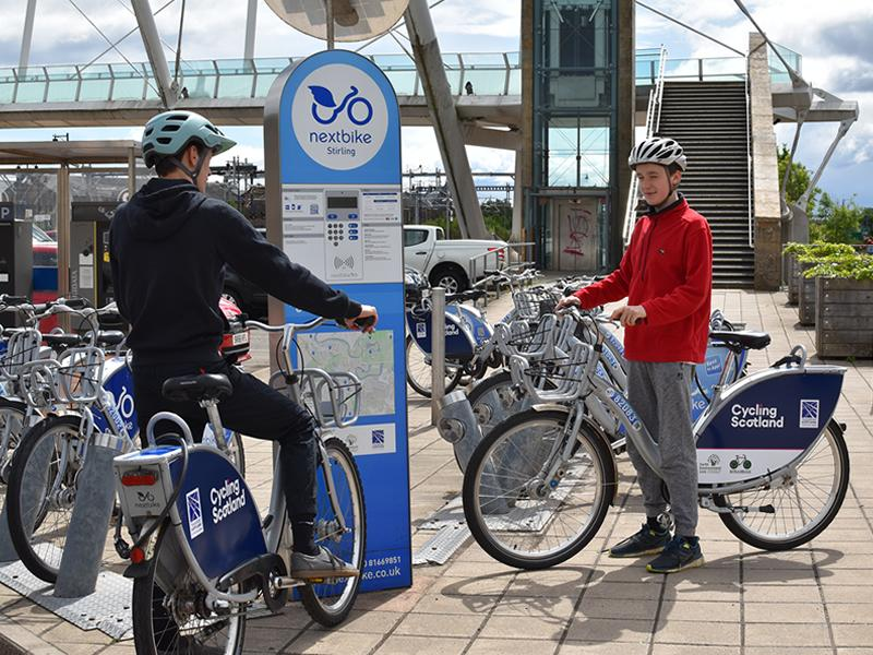 Free Nextbike Stirling rides initiative extended until June