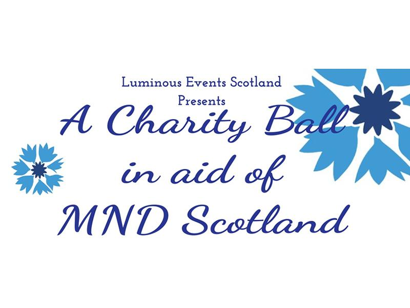 A Charity Ball in aid of MND Scotland