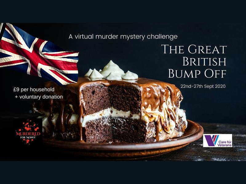 The Great British Bump Off - A Virtual Murder Mystery Challenge