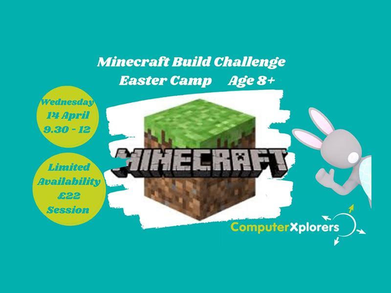 Minecraft Build Challenge - Easter Camp for Kids