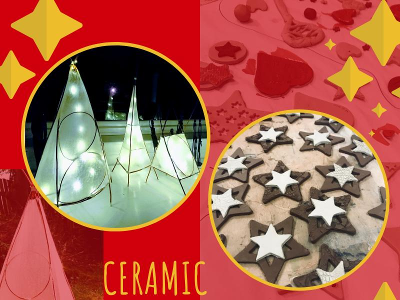 Ceramic Ornament and Willow Lantern Workshops