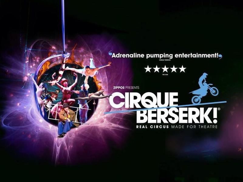 Cirque Beserk returns to Glasgow in June!