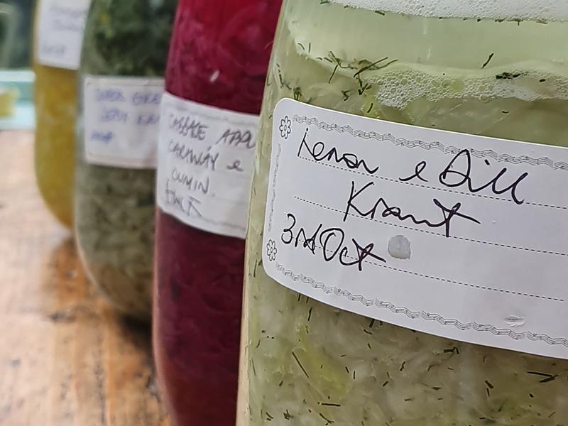 Fermenting Veggies By Nourished by Nature