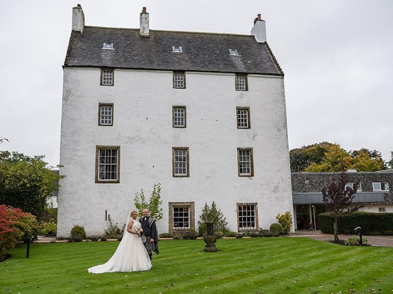 Macdonald Houstoun House Hotel opens its venue to brides and grooms