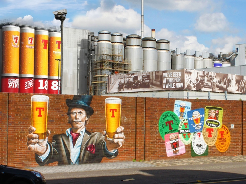 Tennents Visitor Centre and Brewery Tour