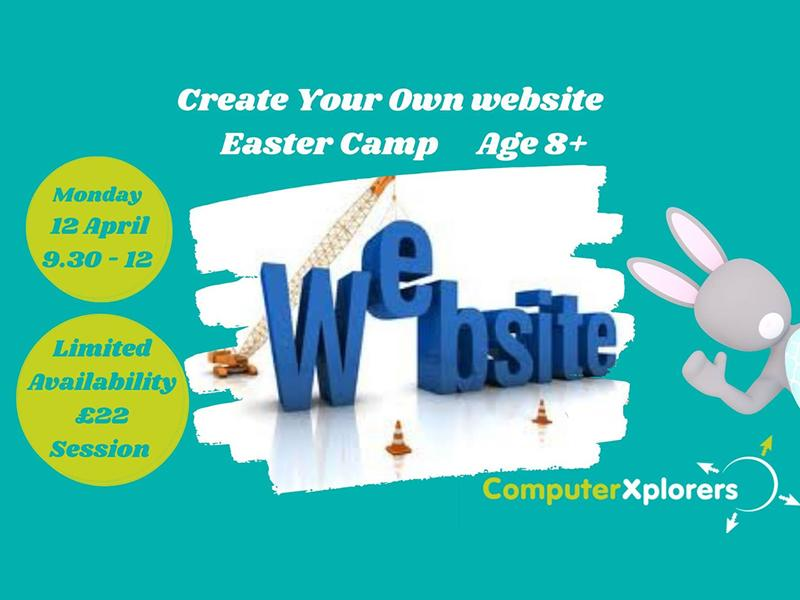 Introduce to Website Design Age 8+ - Easter Camp