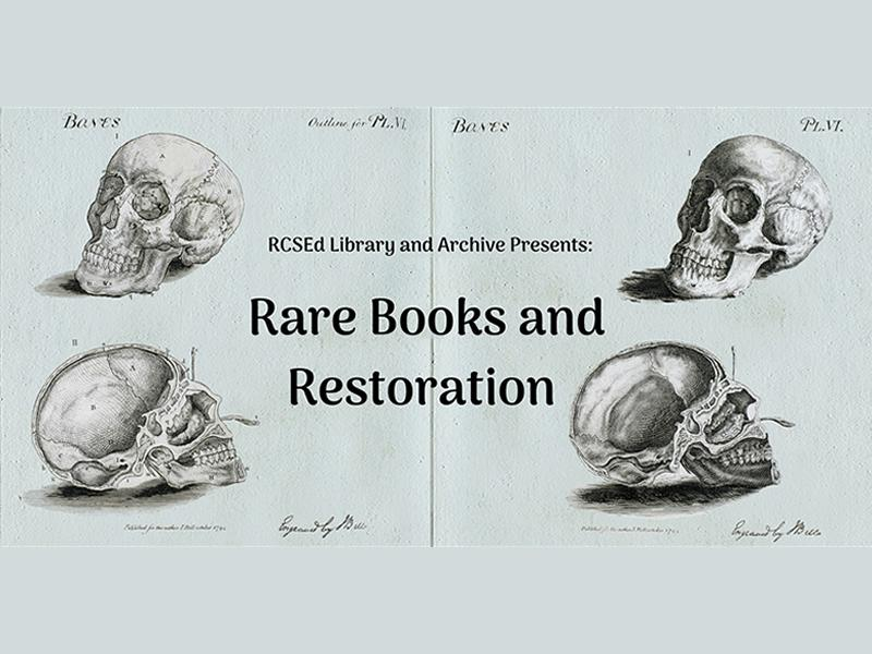 Rare Books and Restoration - CANCELLED