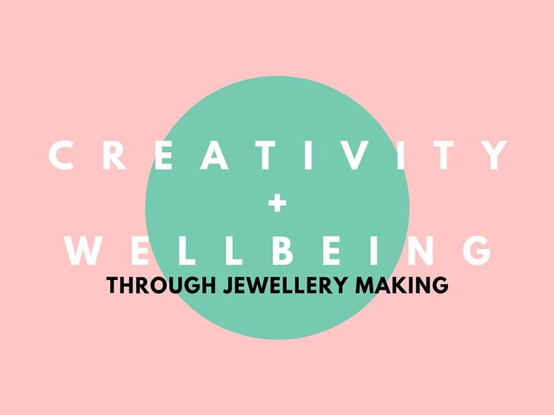 Alternative Materials Workshop - Creativity and Wellbeing Through Jewellery Making