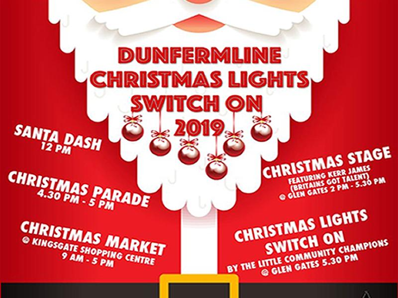 Dunfermline Christmas Light Switch On