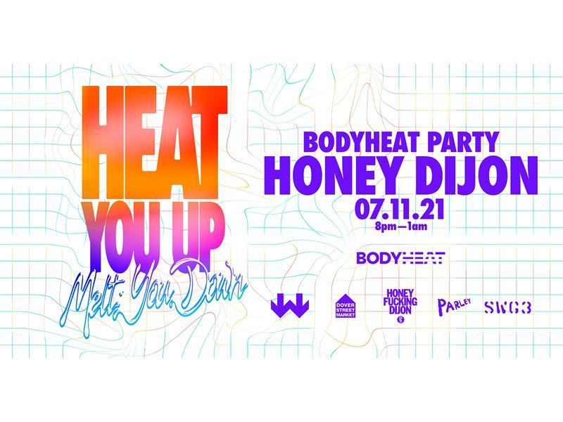 SWG3 Presents BODYHEAT with Honey Dijon