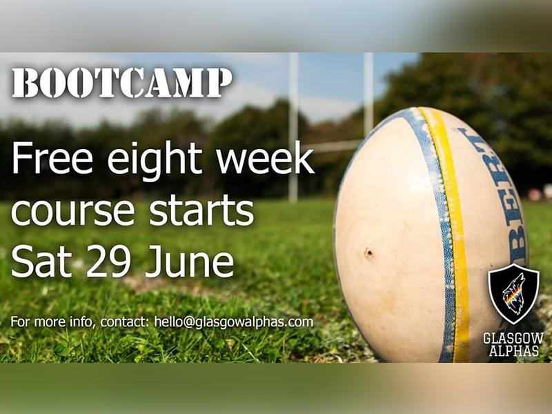 Glasgow Alpha's Introduction to Rugby Bootcamp