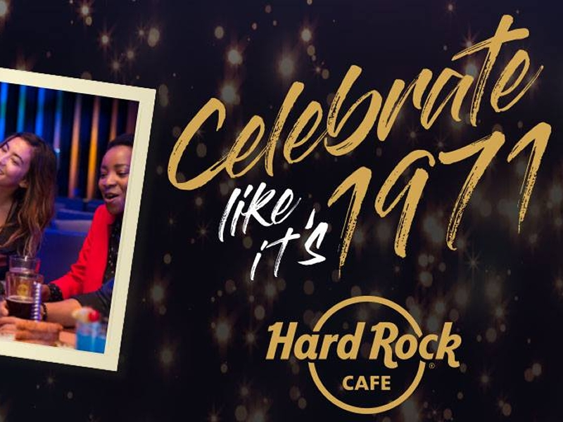 Hard Rock Cafe celebrates 47th Birthday with 71 pence legendary burgers