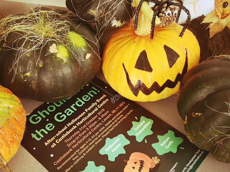 Halloween family fun at Castlebank Horticultural Centre