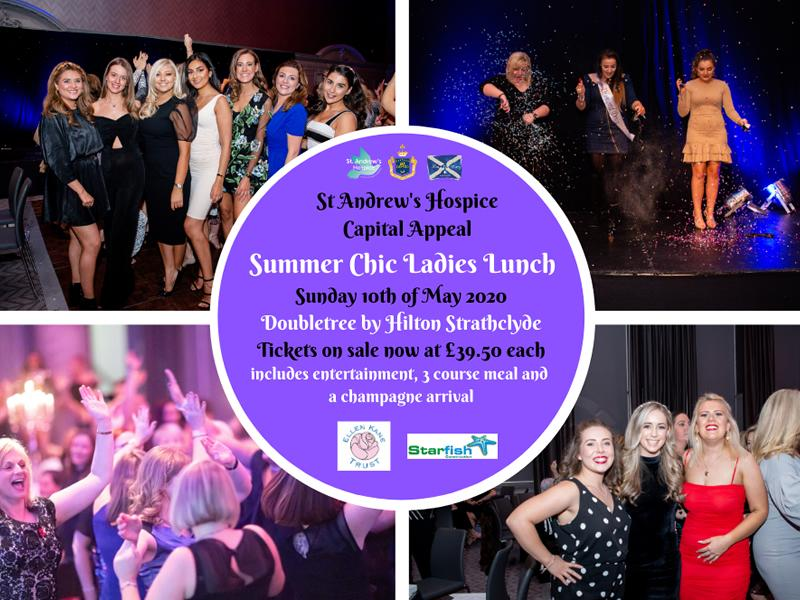 St Andrew's Hospice Capital Appeal Summer Chic Ladies Lunch