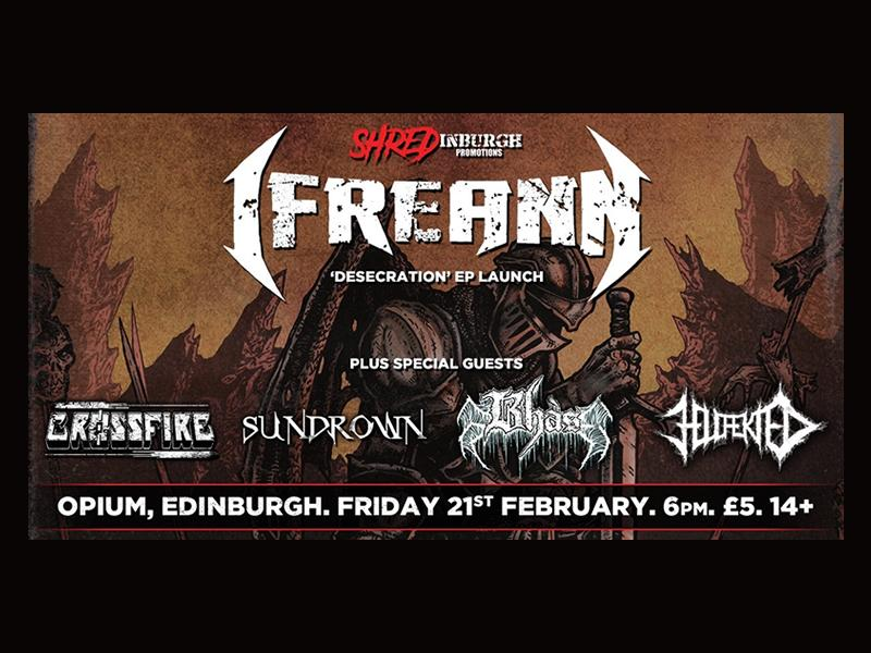 Ifreann - New EP Launch Show + Support