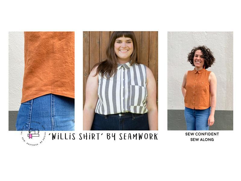Virtual Sew Along - Shirt Vest Top