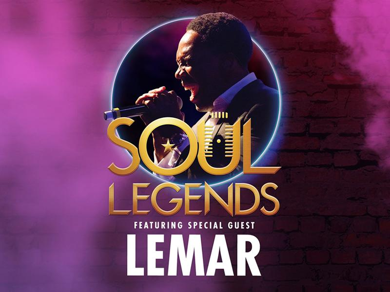 Soul Legends - featuring Special Guest - Lemar