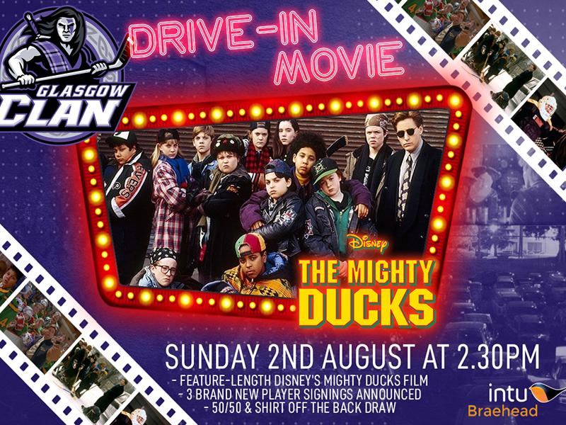 Drive In Movie - The Mighty Ducks