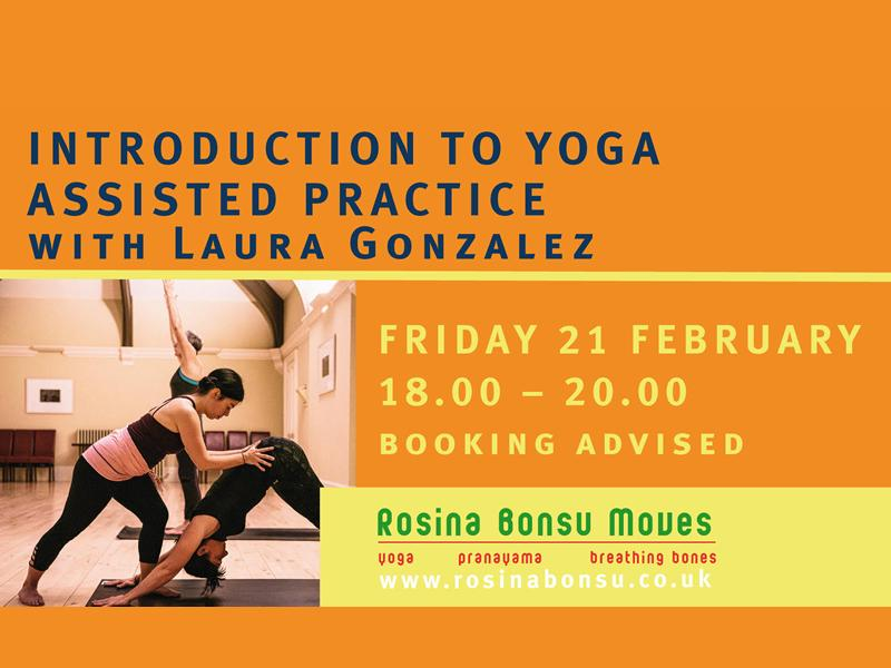 Introduction to Yoga Assisted Practice with Laura Gonzalez