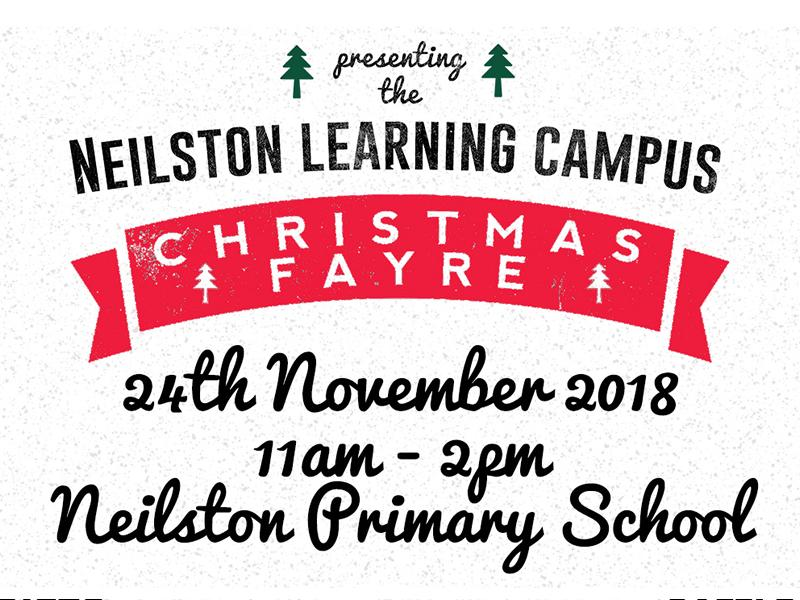 Neilston Learning Campus Christmas Fayre