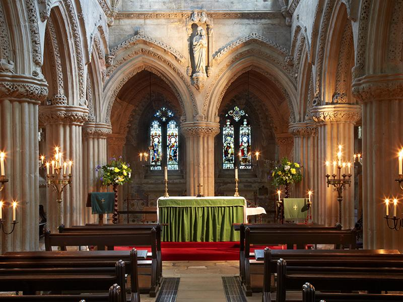 Rosslyn Chapel by Candlelight