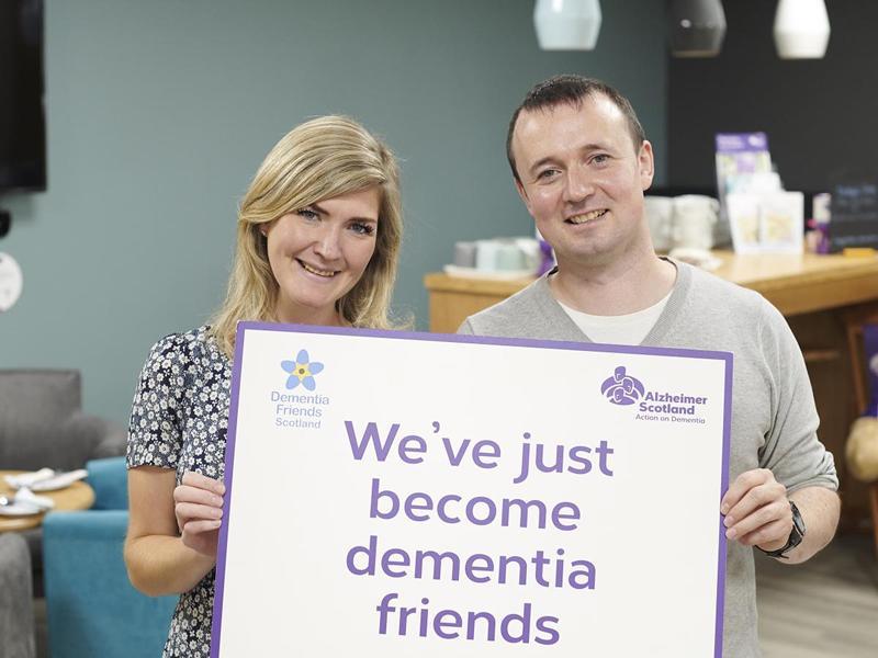 Alzheimer Scotland Dementia Friends Online Sessions