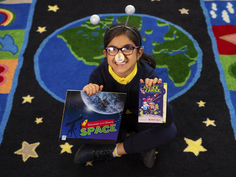 Space themed Summer Reading Challenge lifts off in Glasgow