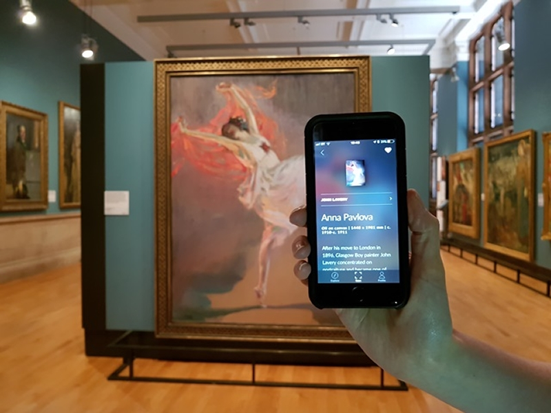 Kelvingrove Museum is the first in Scotland to join Smartify