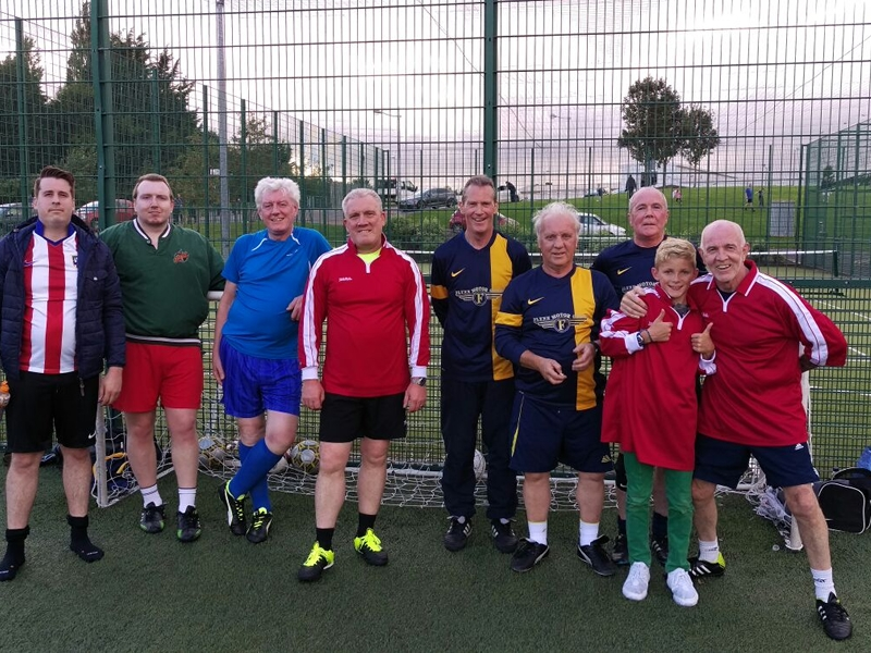 Seniors 5-A-Side Football